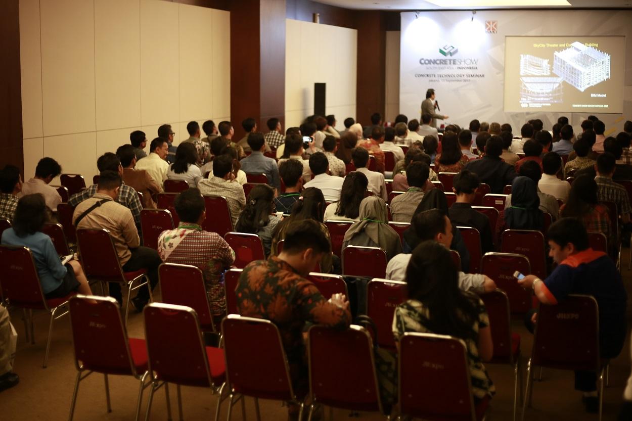 concrete technology seminar concrete show south east asia